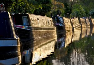 Braunston Reflections by Robin Simmons LRPS