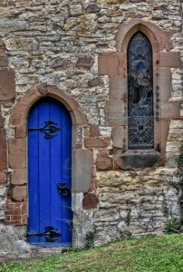 Blue Door by Robin Simmons LRPS