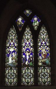 Church Window St John the Baptist Brinklow by Liz Peat