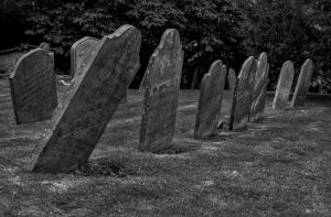Brinklow Churchyard by Robin Simmons LRPS
