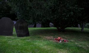 Simple Grave by Robin Simmons LRPS