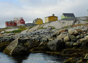 Greenland Houses Get Weathered
