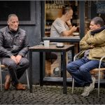 CAFE CONVERSATIONS (Bristol Docks Area) by Terry Mann